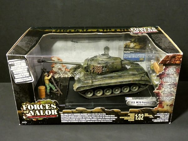 UNIMAX 1/32 FORCES OF VALOR U.S. M26 パーシング 1945