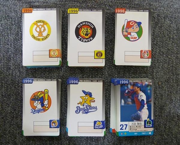 タカラ プロ野球カード ゲーム 1996年 6球団 セ・リーグ