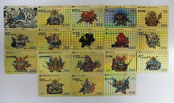SDガンダム カードダス ワールド キラ G 13 12 11 10