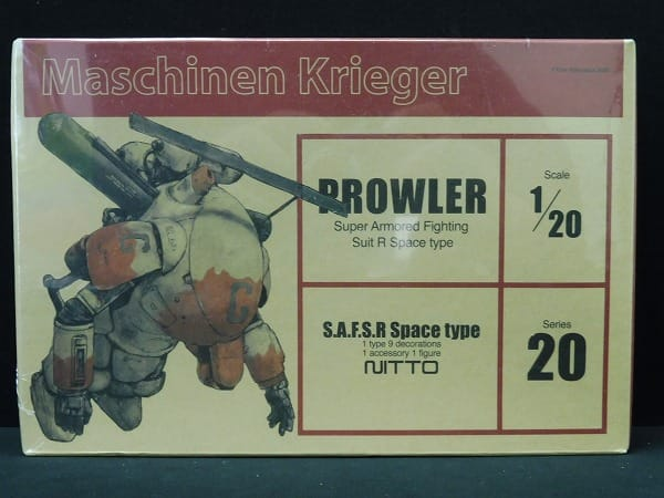 日東 1/20 Ma.K. PROWLER / SF3D