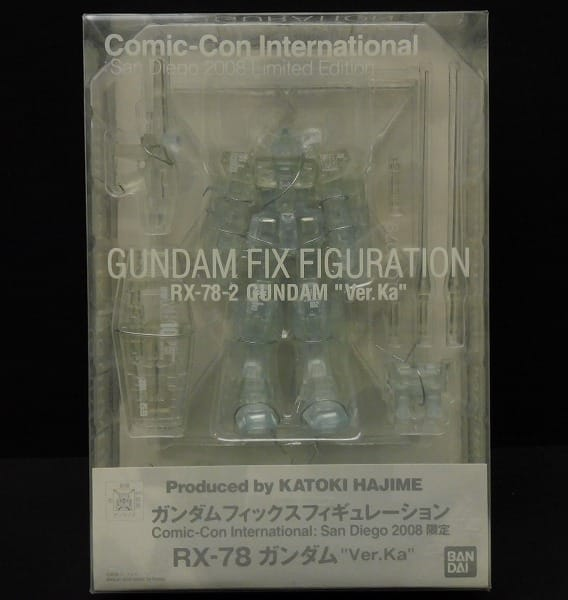 GFF コミコン2008限定 RX-78ガンダム Ver.Ka フィギュア