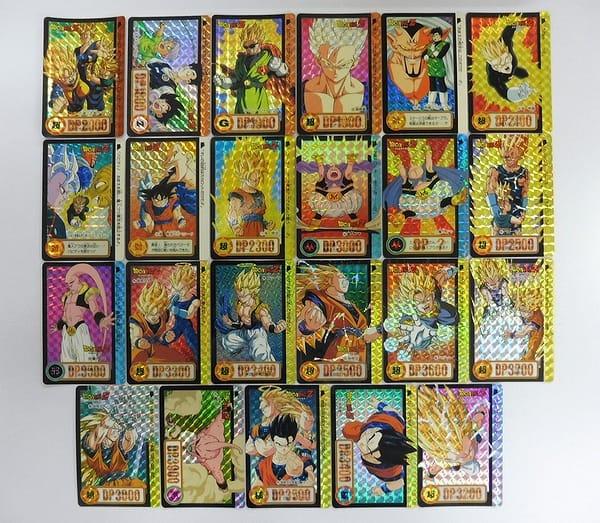 ドラゴンボール カードダス 本弾 キラ No.1 2 3 4 23枚