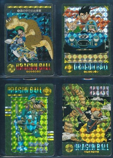 ドラゴンボール カードダス ビジュアルアドベンチャー 4 他