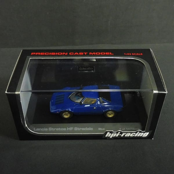 hpi・racing 1/43 ランチア ストラトス HF ストラダーレ