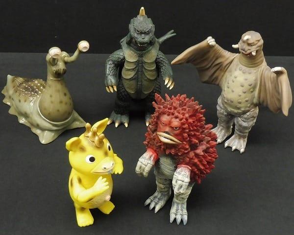 怪獣ソフビ ゴメス ペギラ ナメゴン ブースカ ガラモン