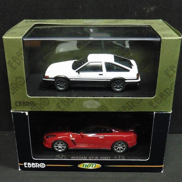 エブロ 1/43 日産 GT-R 2007 スプリンタートレノ AE86