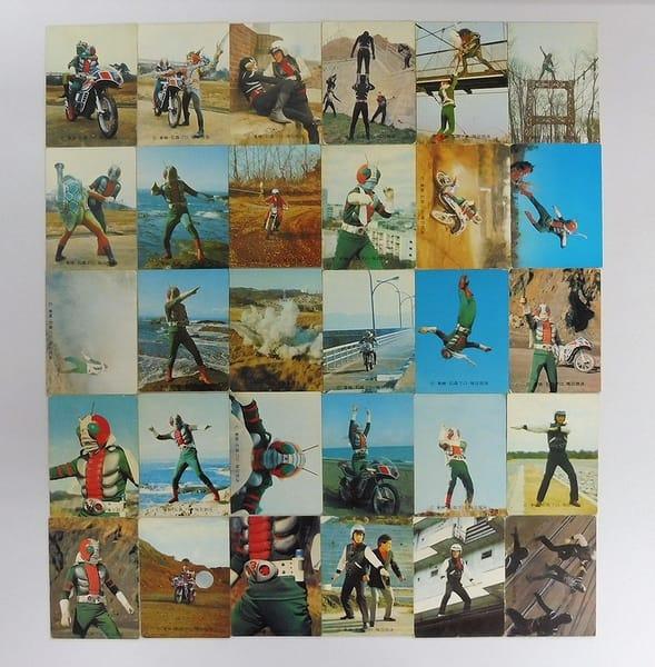 カルビー 旧仮面ライダーV3 カード 32 30枚 セミコンプ