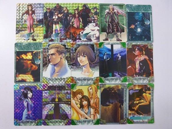 ファイナルファンタジー FF 7 8 カードダス セフィロス