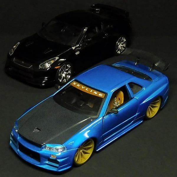 Jada 1/24 2002 日産スカイライン GTR R34 2009 GT-R