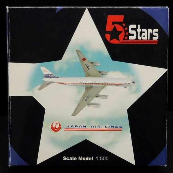 5Stars 1/500 ダグラスDC-8 JAL JA8012 日本航空 DC8-50