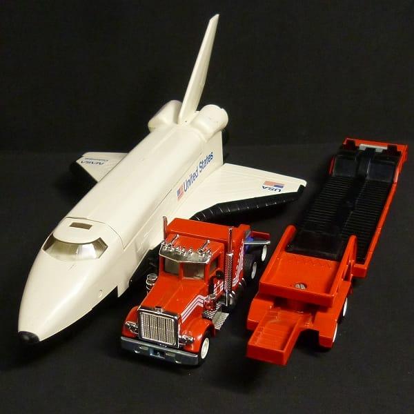 SIKU 1/55 スペースシャトル 積載運搬トレーラー