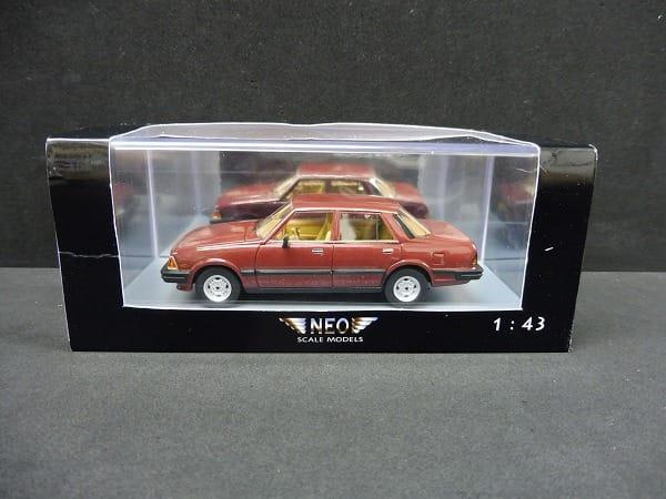 NEO 1/43 マツダ 626 セダンMk.1 カペラ /1981 レッド