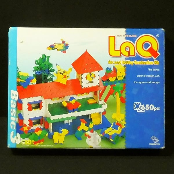 ヨシリツ LaQ ベーシック3 650pcs / ラキュー 知育玩具