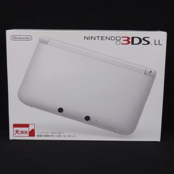 Nintendo ニンテンドー 3DSLL 本体 ホワイト / ゲーム機_1