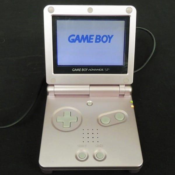 Nintendo ゲームボーイアドバンスSP パールピンク 本体_2