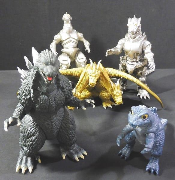 怪獣 ソフビ ゴジラ 2003 メカゴジラ 2003 他