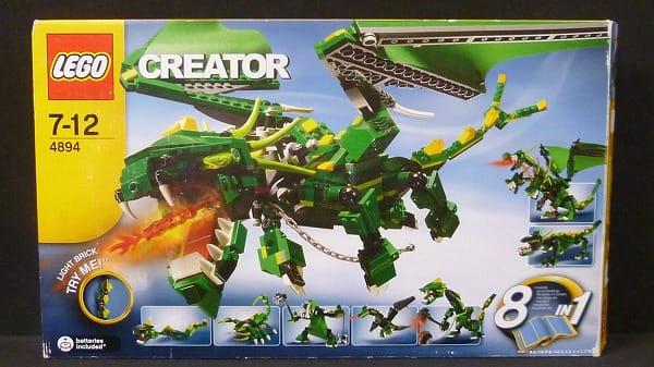 LEGO クリエイター グリーンドラゴン 4894 / レゴ