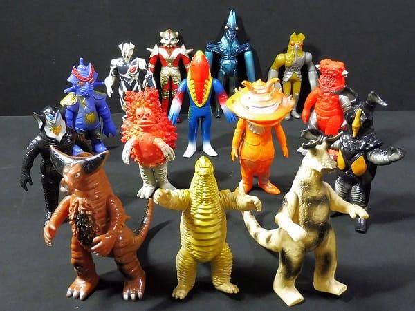 ウルトラ怪獣 日本製 ソフビ テンペラー星人 他