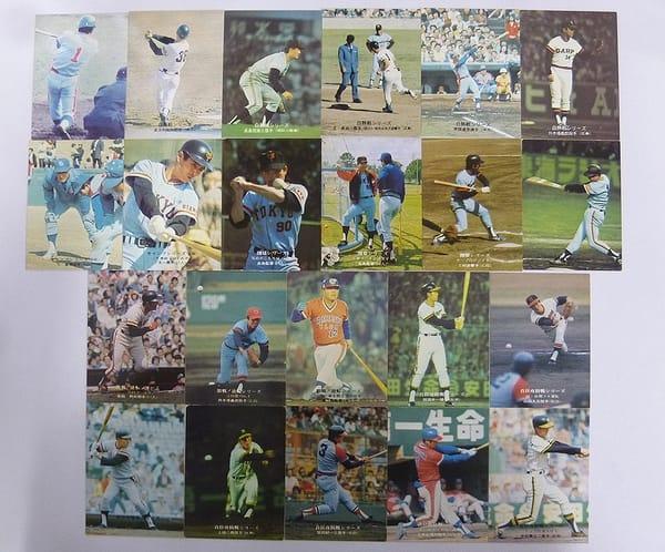 カルビー プロ野球カード 75年 白熱 キャンプ 開幕 首位_1