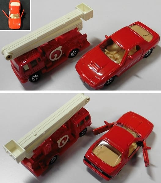 トミカ 赤箱 日本製 マツダ サバンナ RX-7 消防車_2