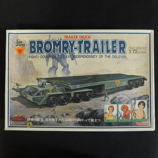 1/72 太陽の牙ダグラム ブロムリー トレーラートラック