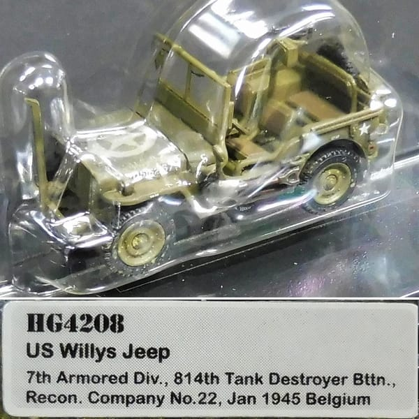 HM 1/72 M5A1 スチュアート 英軍 ウィリス ジープ 米軍_3