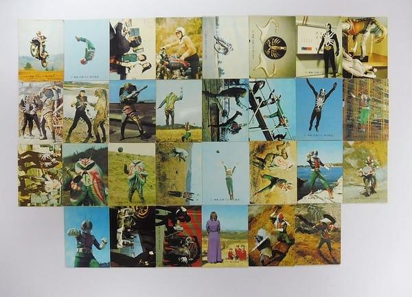 カルビー 旧 仮面ライダーV3 カード 106 30枚 当時物_1