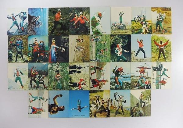 カルビー 旧 仮面ライダーV3 カード 226 30枚 当時物_1