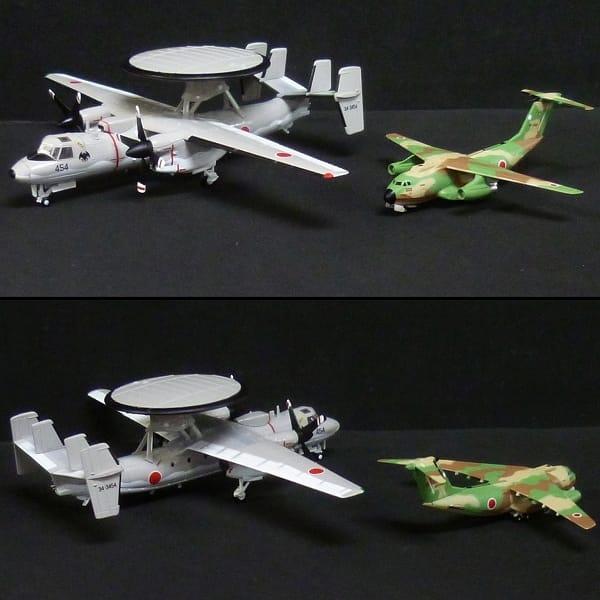 自衛隊モデルコレクション 航空機 E-2C C-1 F-2A F-15J_2