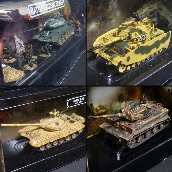 FOV 1/72 ソ連 T-34/85 中戦車ジオラマ イラク T-72他_3