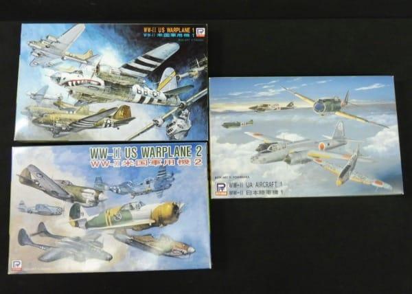 ピットロード 1/700 WW-Ⅱ米国軍用機1 2 日本陸軍機1_1