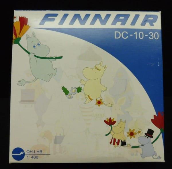 ドラゴン 1/400 フィンエアーFINNAIR DC-10-30 ムーミン_1