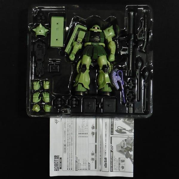 ROBOT魂 ストライクフリーダムガンダム ザクⅡ_3