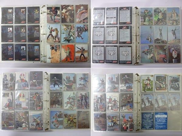 アマダ 仮面ライダー カード トレカ 400枚以上 / コンプ_3