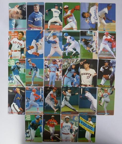 カルビー プロ野球チップス カード 1991年 28枚_1