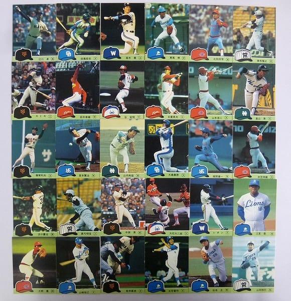 カルビー 当時 プロ野球カード 1984年 No.171~209 30枚_1