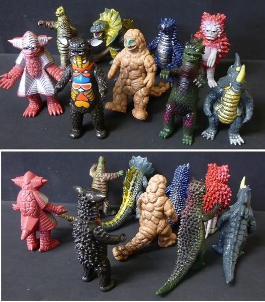 ウルトラ怪獣 ソフビまとめて 日本製 カネゴン アギラ他_2