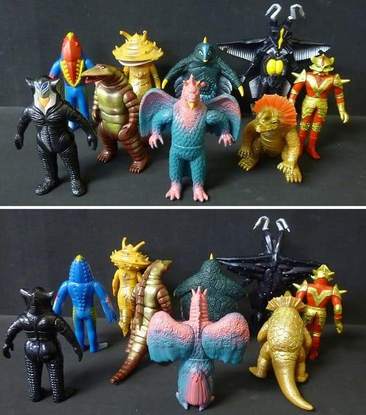 ウルトラ怪獣 ソフビまとめて 日本製 カネゴン アギラ他_3