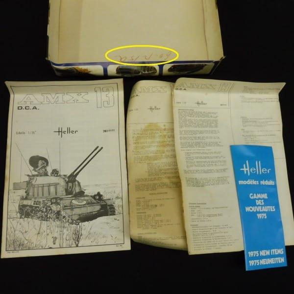 エレール Heller 1/35 仏 対空砲 AMX-13 軽戦車 当時物_3