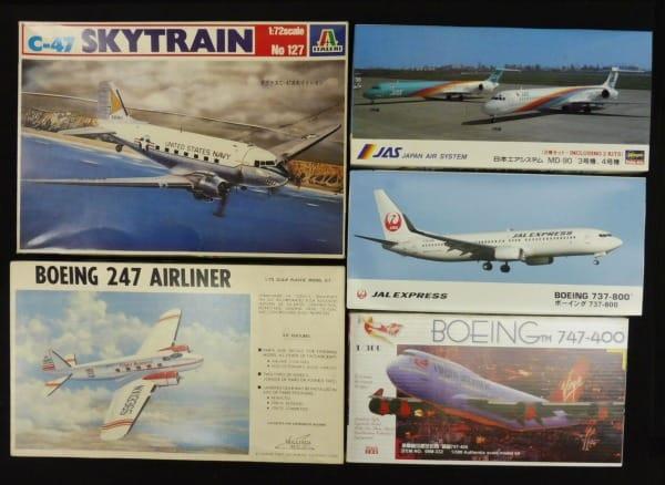 航空機 JAL B737-800 JAS MD-90 スカイトレイン C-47 他_1