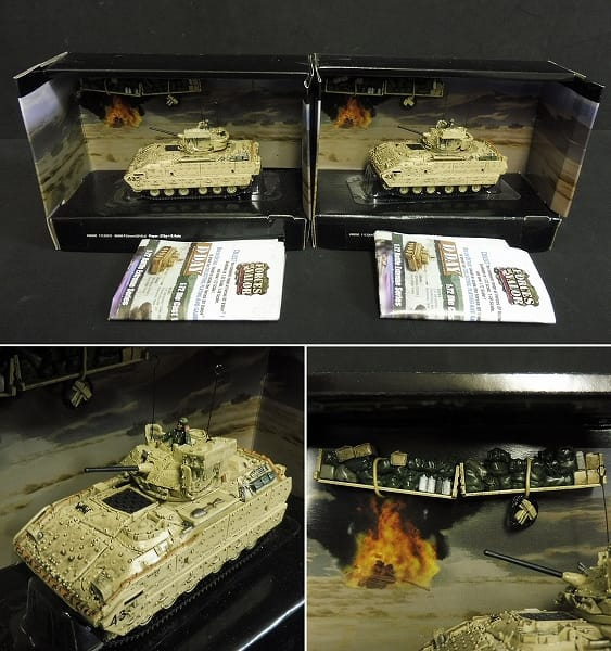 UNIMAX 1/72 U.S.M3 LEE M1A2 ABRAMS M3A2 BRADLEY_2