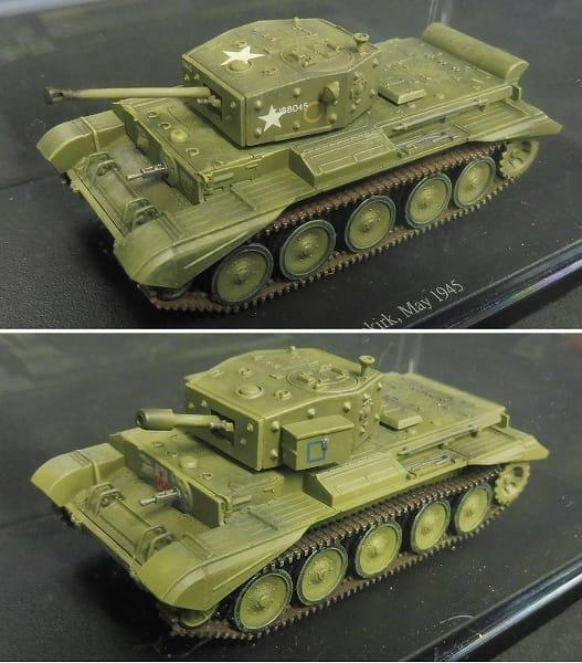 1/72 クロムウェル Mk.IV Mk.VI セントー Mk.4 巡航戦車_2