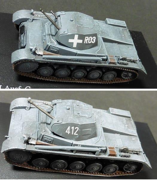ホビーマスター 1/72 ドイツ 2号戦車 C型 フランス 1940_2