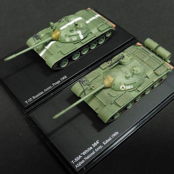 ホビーマスター 1/72 T-55A 中戦車 ソビエト軍 他_2