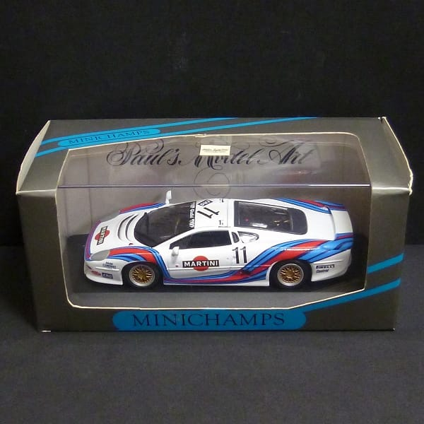 PMA 1/43 ジャガー XJ220 レーシング GTカップ Martini_1