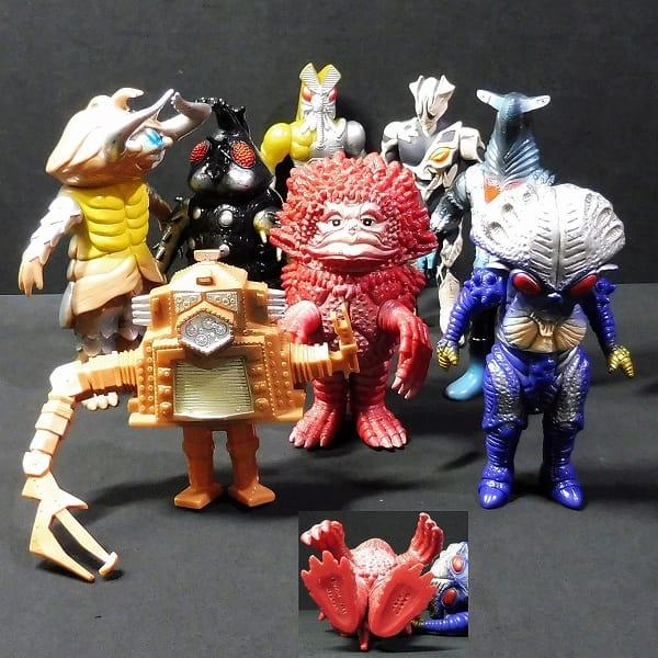 ウルトラ怪獣 日本製 ソフビ ピグモン ブローズ 他_3