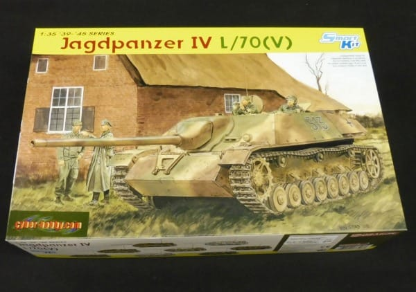 サイバーホビー 1/35 ヤクトパンター Ⅳ号 駆逐戦車