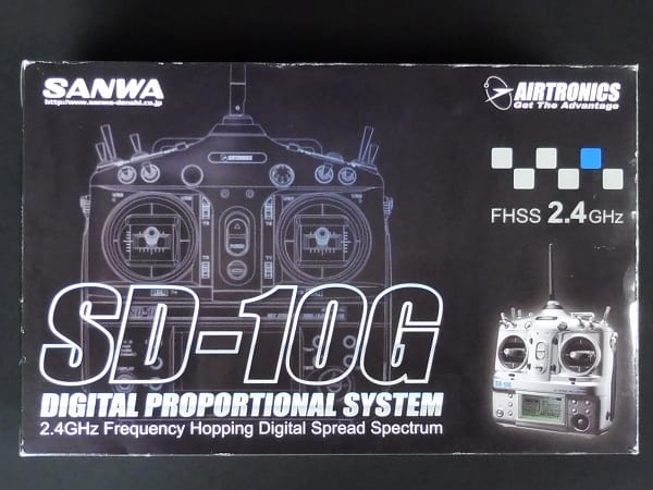 サンワ SD-10G RX-861 PC / プロポ TX-1011 FHSS 2.4GHz