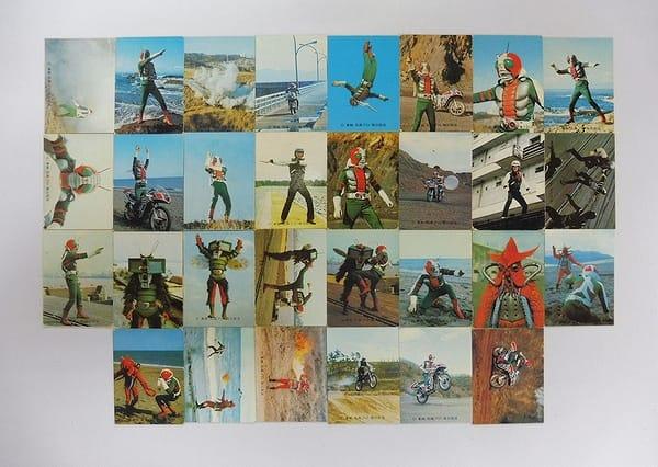 カルビー 当時物 旧 仮面ライダーV3 カード 45 86 30枚