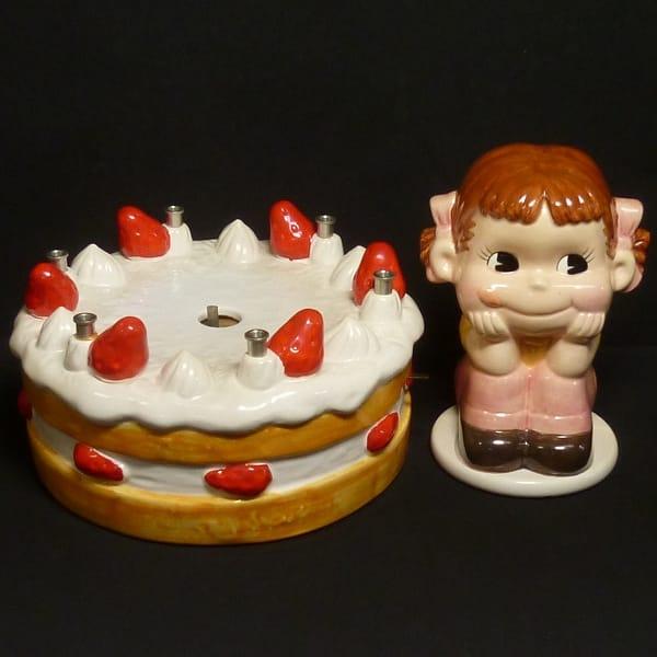 不二家 非売品 ペコちゃんオルゴール ショートケーキ